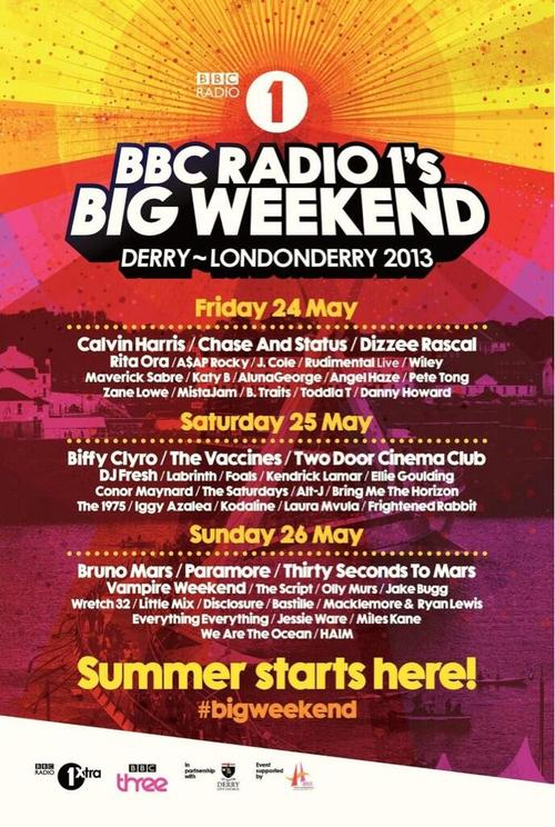 bbc radio 1 big weekend full lineup confirmed into the crowd magazine. Black Bedroom Furniture Sets. Home Design Ideas