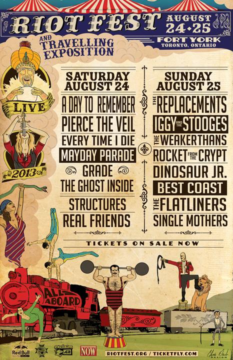 Riot-Fest-Toronto-Lineup