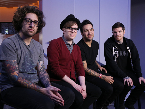 Fall Out Boy Visits fuse