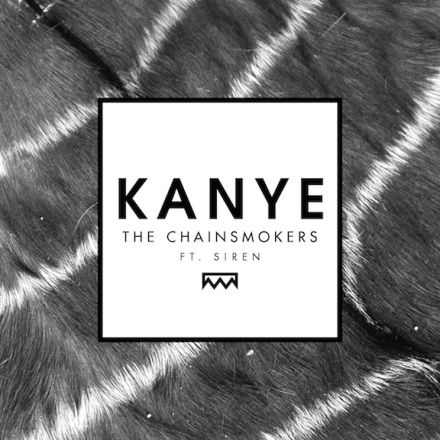 THE CHAINSMOKERS KANYE COVER ART