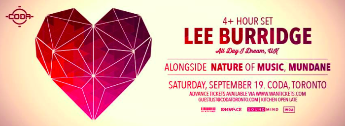 lee burridge toronto