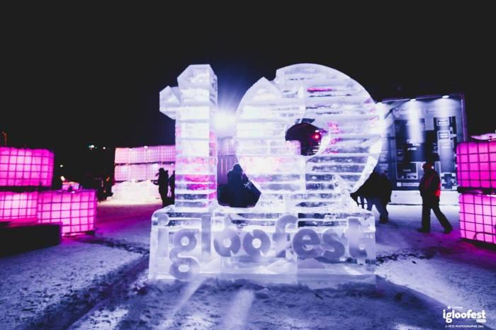 Igloofest Ice
