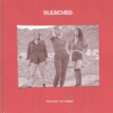 bleached welcome the worms album art