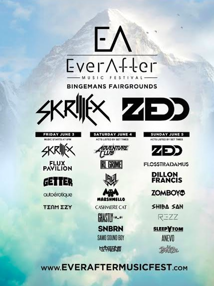 Ever After Line Up 2016